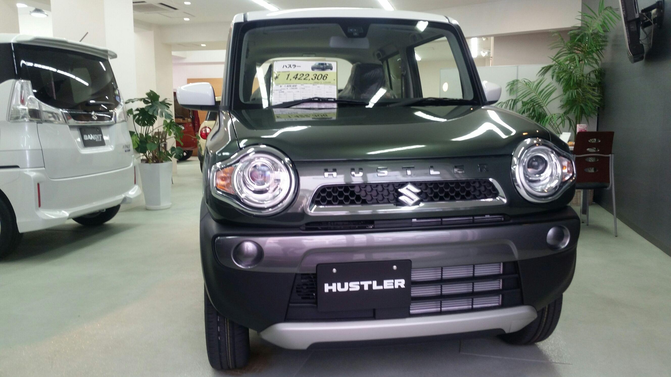 ハスラーFrimi展示車