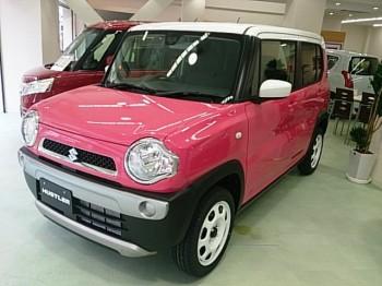 新型ハスラー 展示車 試乗車 大阪